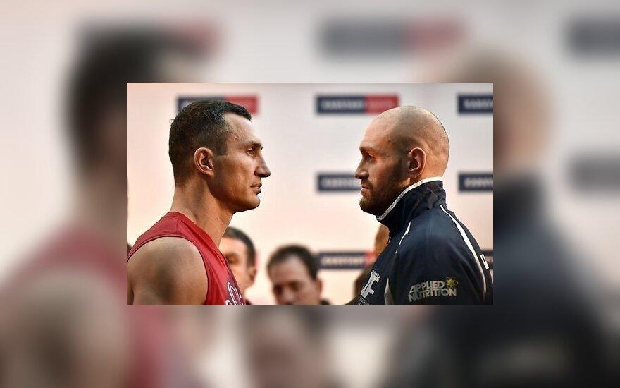 Кличко и Фьюри заключили контракт на проведение реванша