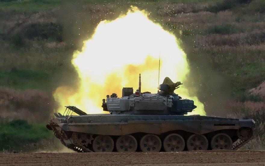 Baltarusijos tankas T-72B3