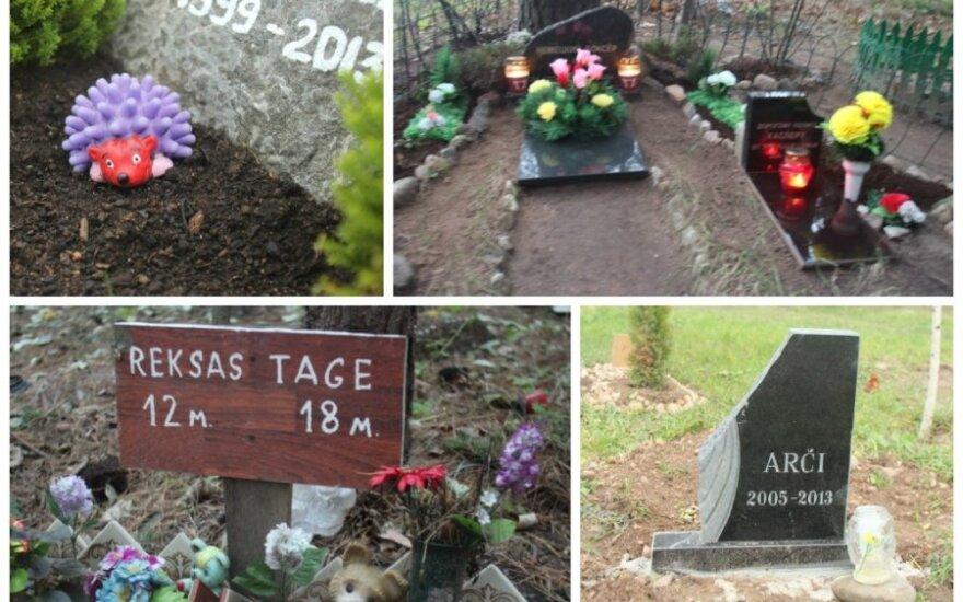 Legalios ir nelegalios gyvūnų kapinės Vilniuje (M. Drigoto nuotr.)