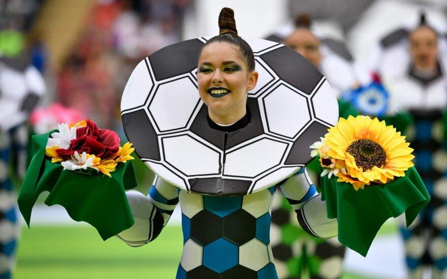 Įspūdingiausi FIFA 2018 atidarymo rungtynių sirgaliai