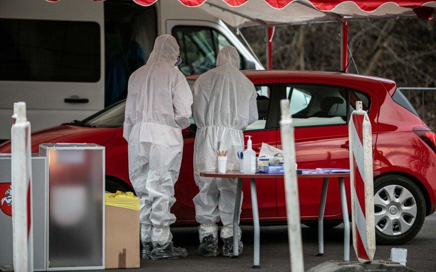 В полдень в Вильнюсе начинают действовать 2 мобильных пункта проверки на коронавирус