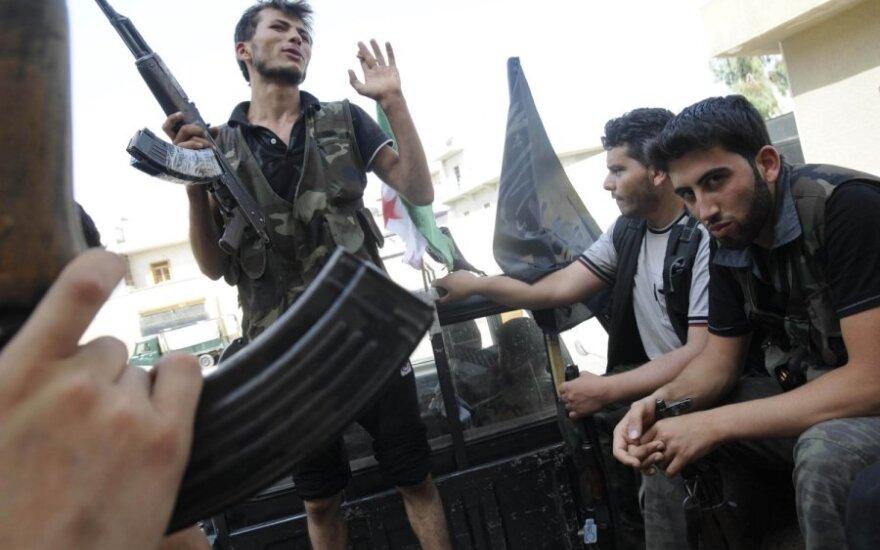 Sukilėliai Sirijos Alepo mieste