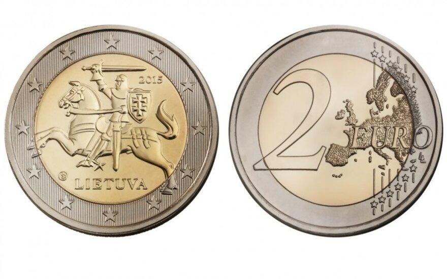 Литовские евро приобретают внешний облик