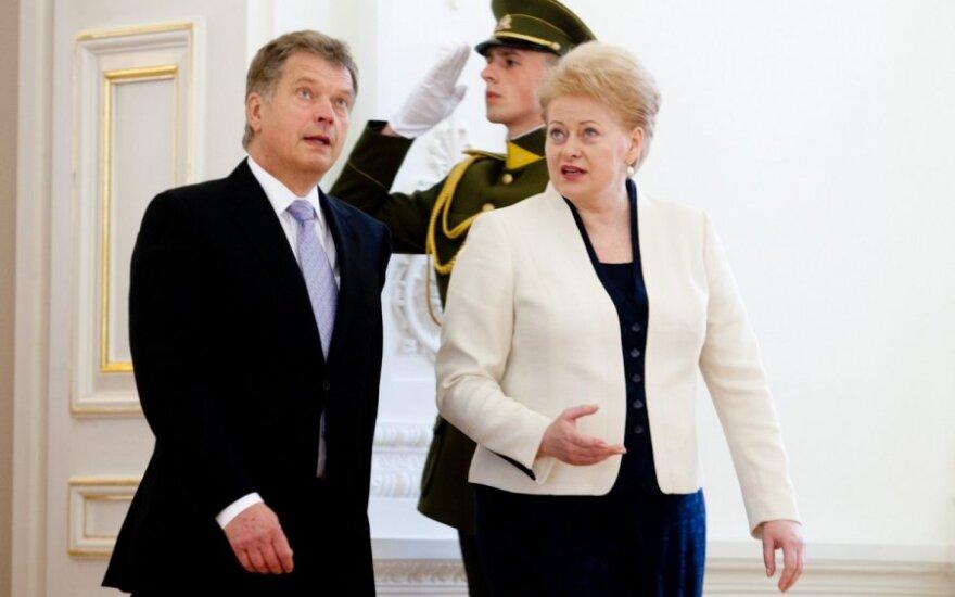 Президент Литвы: малым странам нужны АЭС