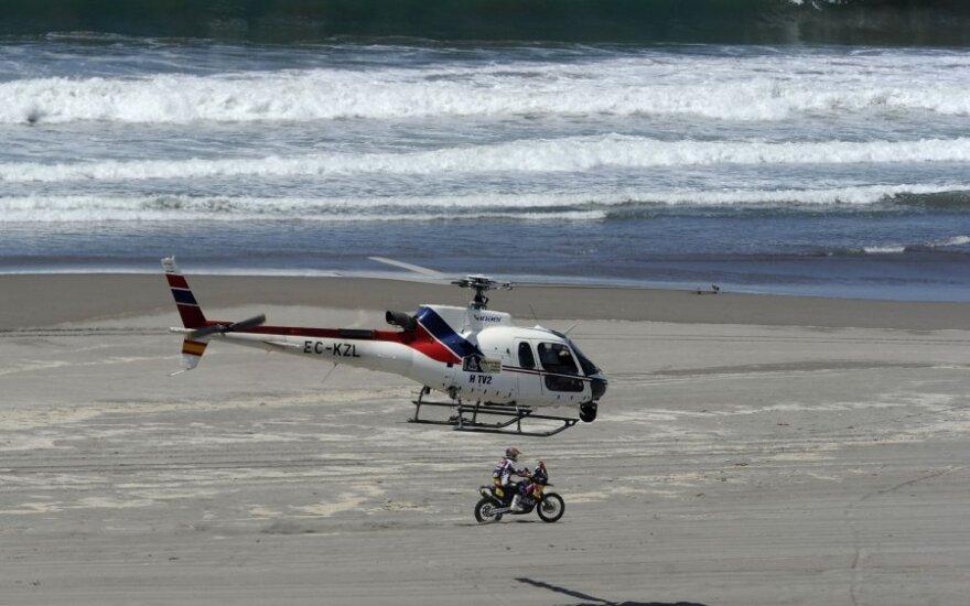Malūnsparnis Dakaro ralyje