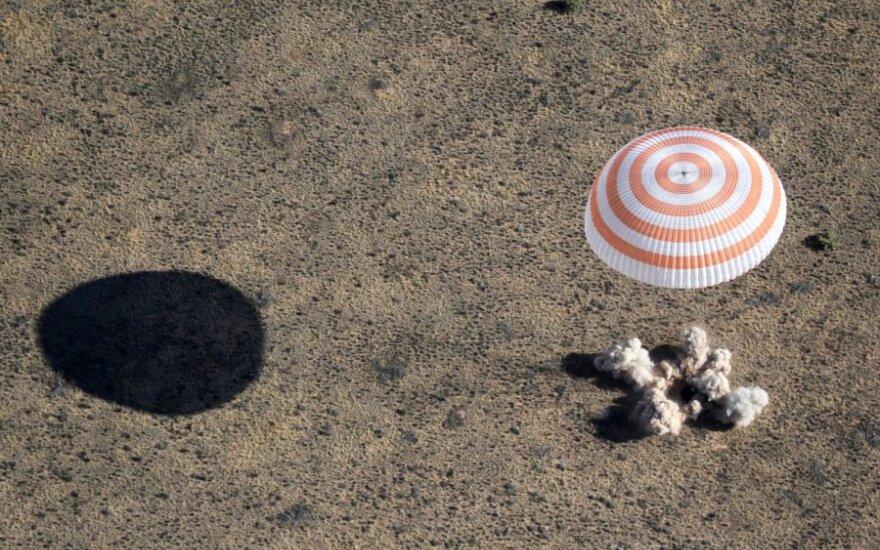 """""""Sojuz TMA-21"""" kosminio laivo kapsulė"""
