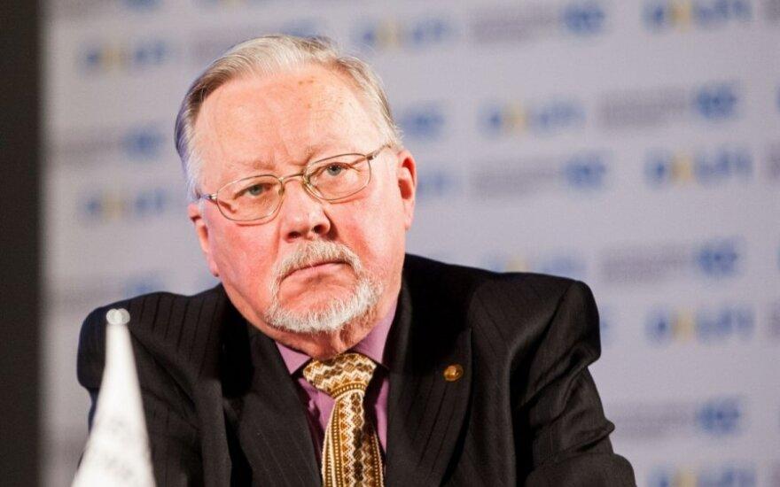 Ландсбергис: это война на измор, чтобы затопить Украину кровью