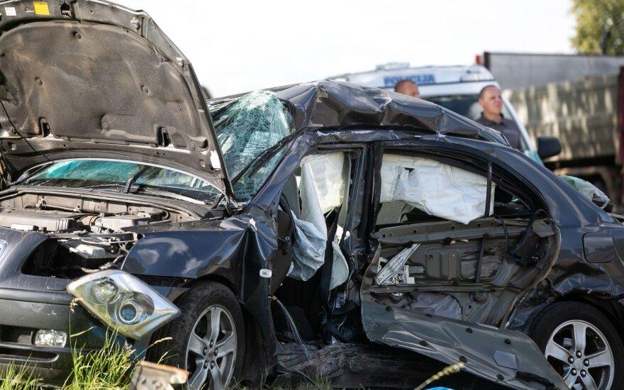 Жуткая авария под Вильнюсом: погибли два человека