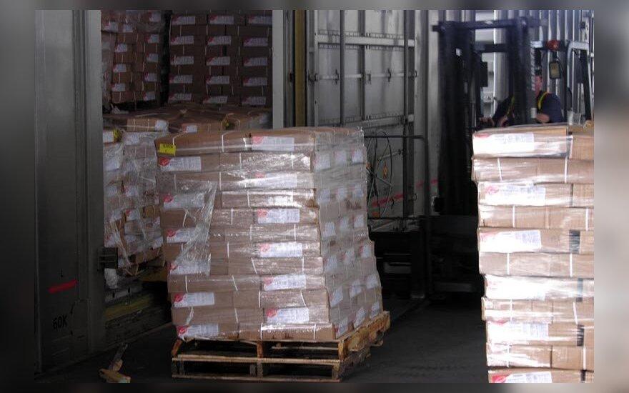 Экспорт товаров литовского происхождения в Россию упал на 48,8%