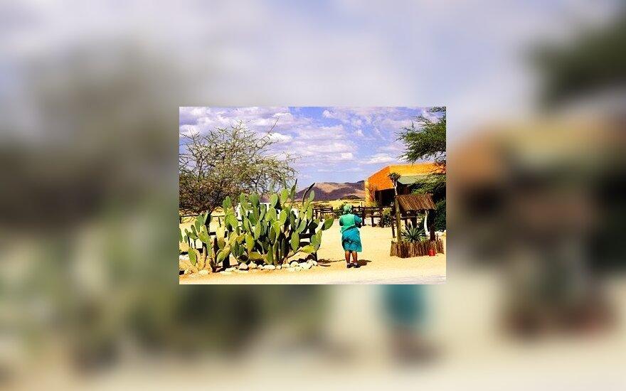 Namibija. Kraštovaizdis
