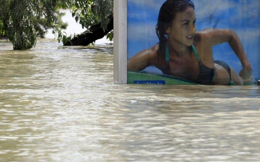 Potvynis Vengrijoje