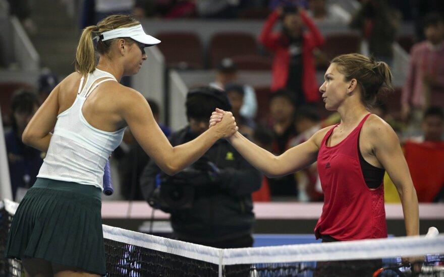 """China Open"" ketvirtfinalis: Simona Halep – Maria Šarapova"