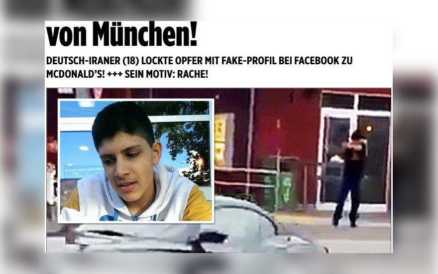 Įtariamojo Miuncheno žudiko nuotrauka