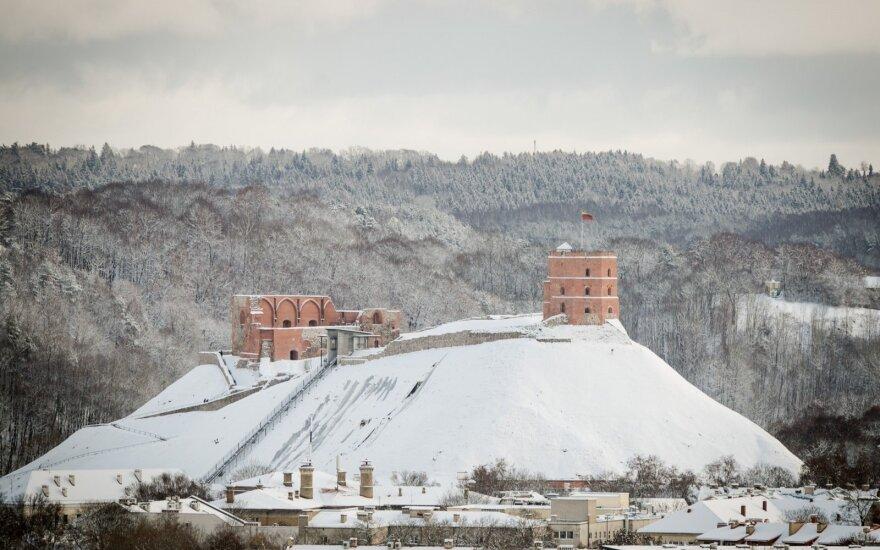 Погода: зимняя погода из Литвы не уйдет