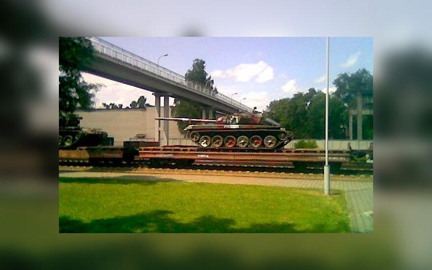 Российская армия избавится от танков Т-62