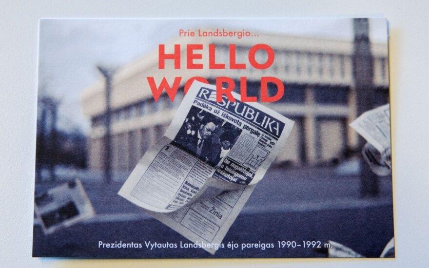 Открытки к столетию Литвы: Витаутас Ландсбергис - один из президентов века