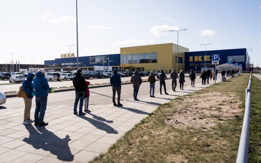 В Вильнюсе открылся магазин Ikea: сразу же появилась очередь