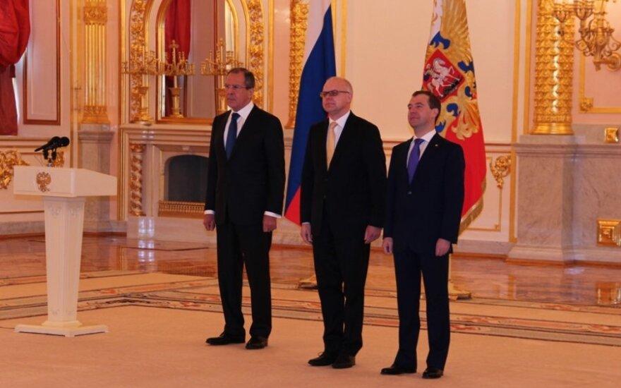 Ambasador Litwy skrytykował inaugurację Putina