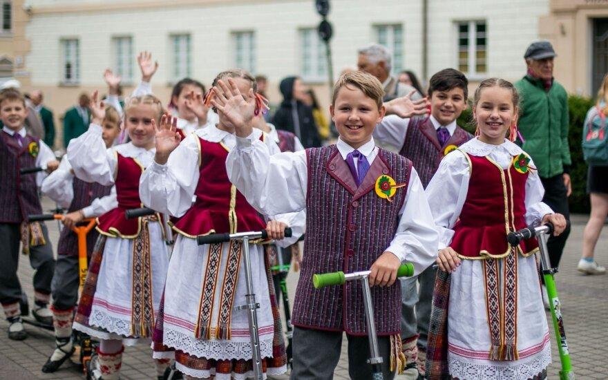 В Вильнюсе начался Праздник песни