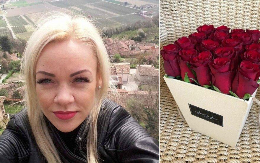 Žaneta Stonytė, gėlių puokštė