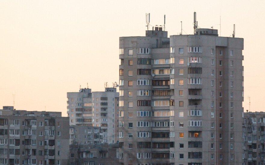 Во втором квартале цены на жилье в Литве выросли на 1,5%