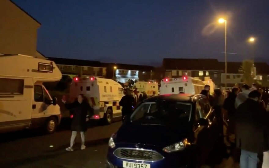 В Северной Ирландии в результате беспорядков убита журналистка