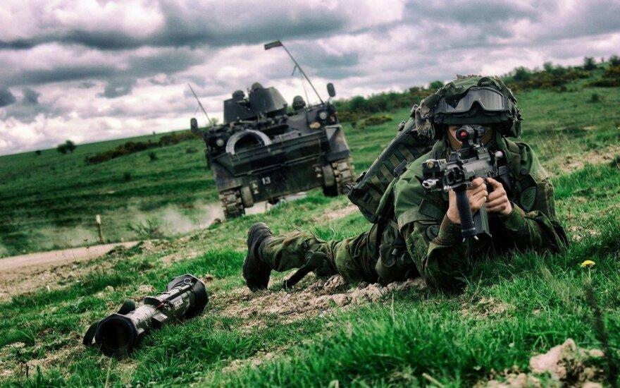 В Пабраде начинаются учения с участием 4000 военнослужащих