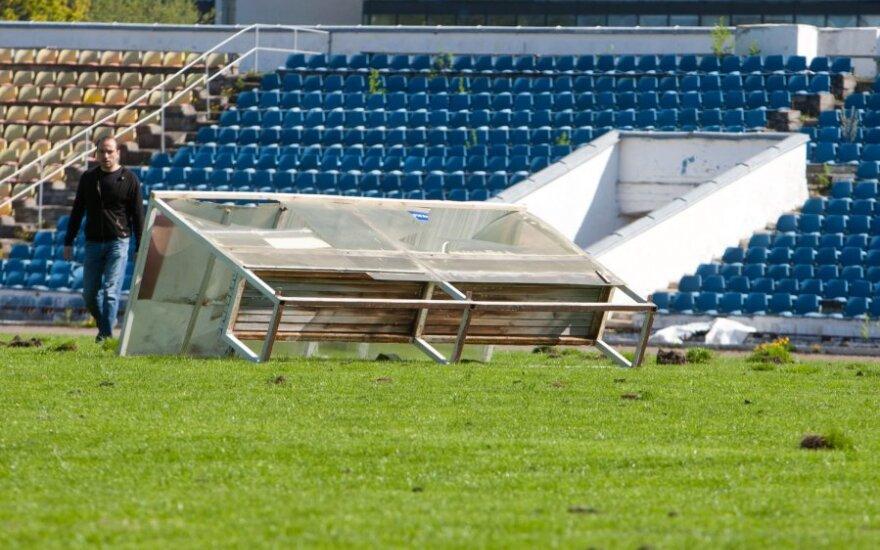 """Вильнюсские политики не могут прийти к согласию по вопросу реанимации стадиона """"Жальгирис"""""""