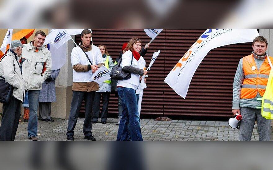 Разрешение на митинг аннулировано, профсоюзы проведут несанкционированную акцию