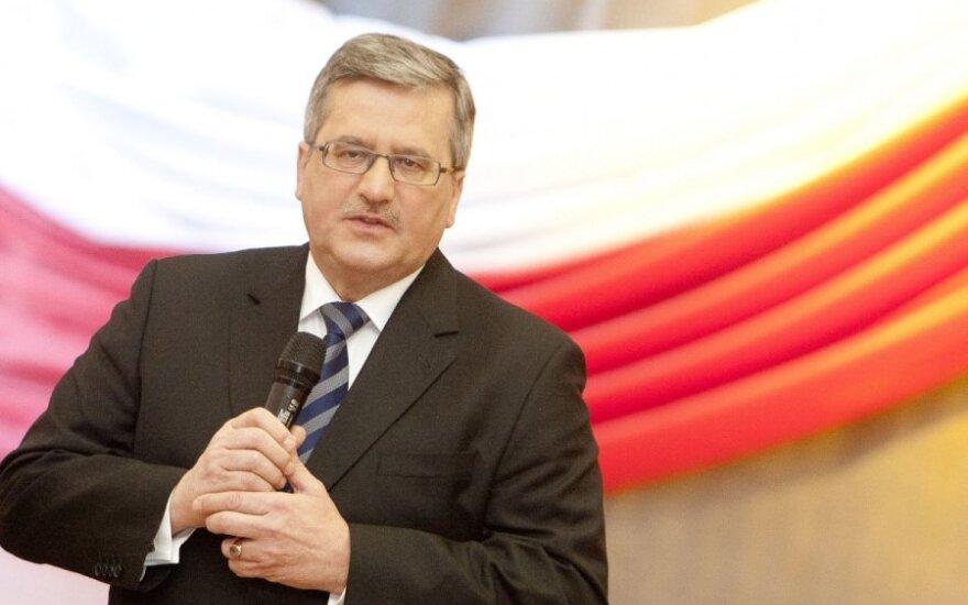 Bronisław Komorowski: Dramat demograficzny