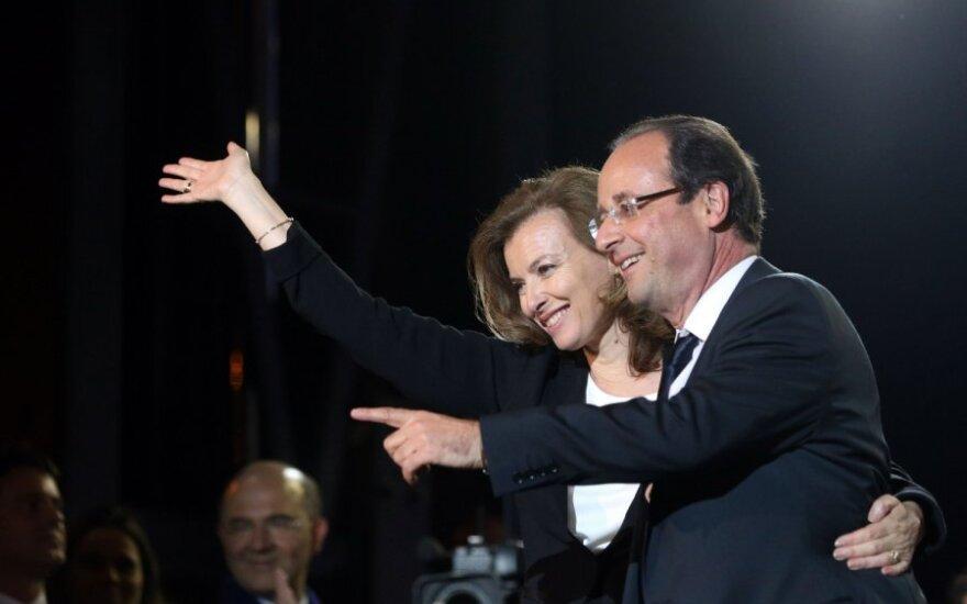 Francois Hollande'as su drauge Valerie Trierweiler