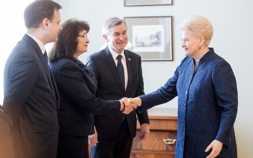 Arvydas Nekrošius, Rima Baškienė, Viktoras Pranckietis, Dalia Grybauskaitė