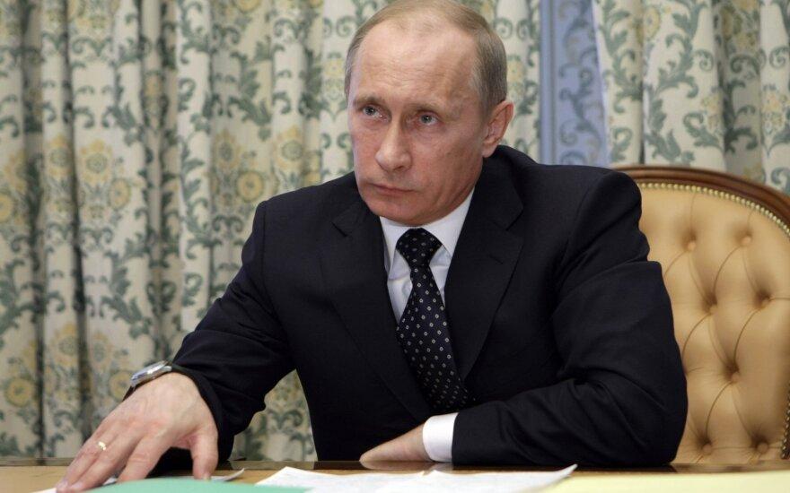 Vladimiras Putinas Krasnojarske 2010 m.