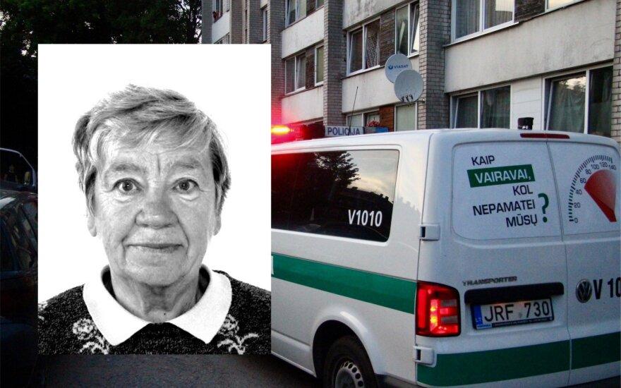 Клайпедская полиция разыскивает пропавшую без вести пенсионерку