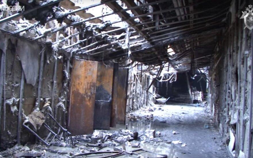 СК РФ: сгоревший ТЦ в Кемерово возвели без разрешения на строительство