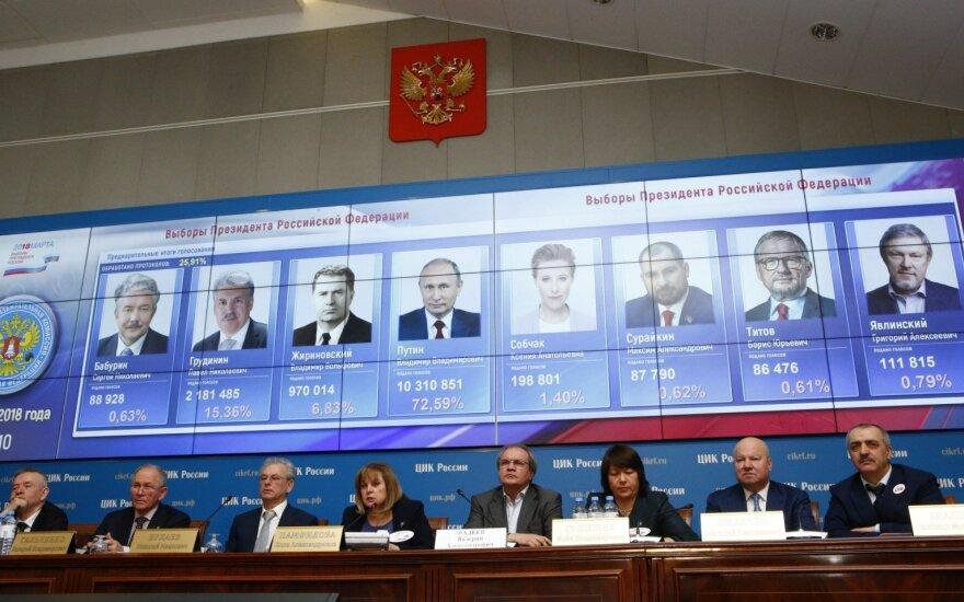Литва не считает президентские выборы в РФ свободными и демократическими