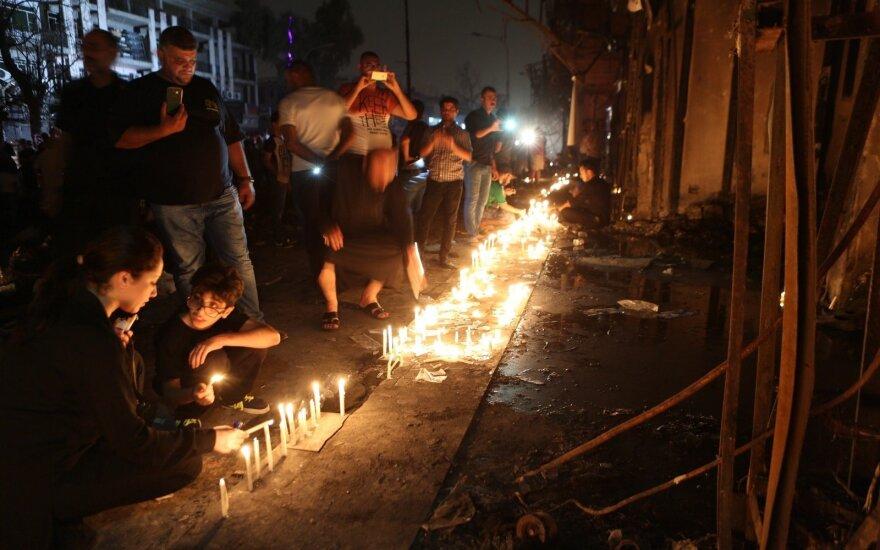 Число жертв взрыва в Багдаде выросло до 292 человек