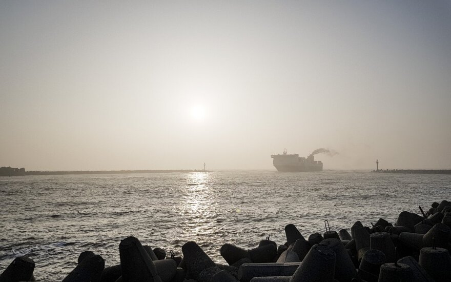 В Клайпеду пришёл новый груз нефти для Беларуси