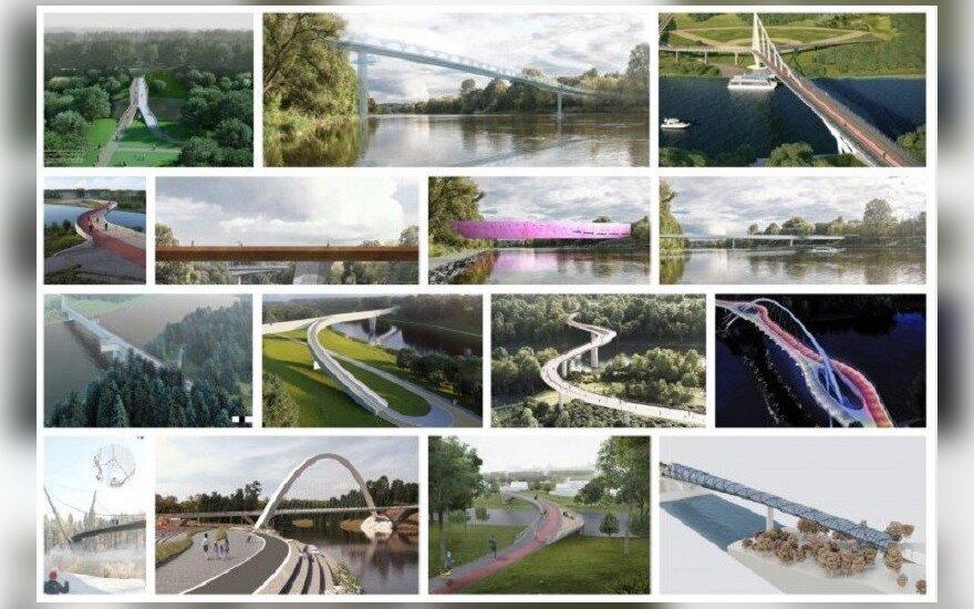 Tiltų pasiūlymų vizualizacijos