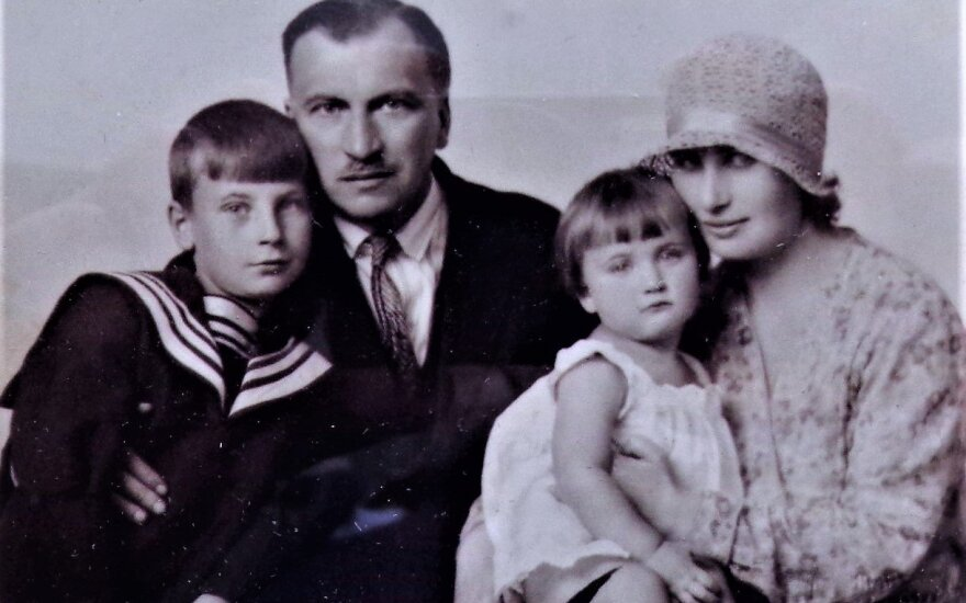 Семья Аркадия Кондуралова