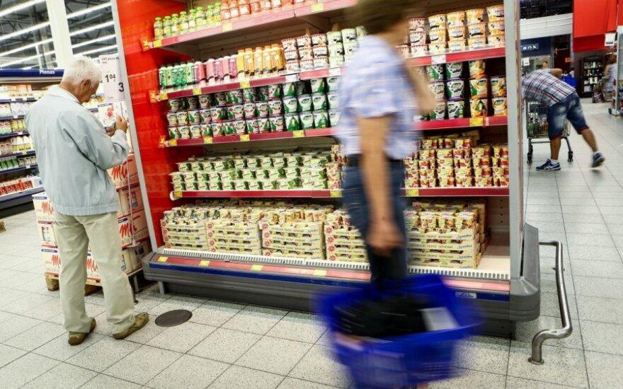 В литовских магазинах – отголоски торговой войны