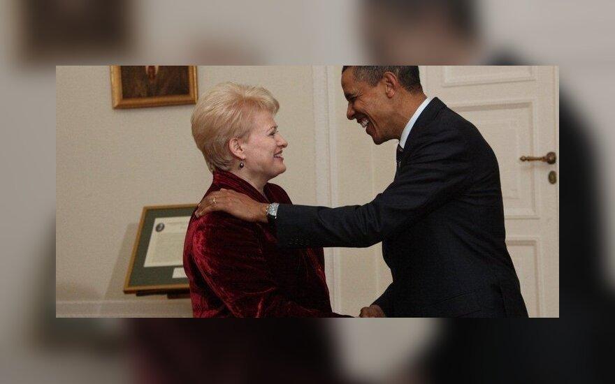 B.Obama Lenkijoje susitiko su D.Grybauskaite