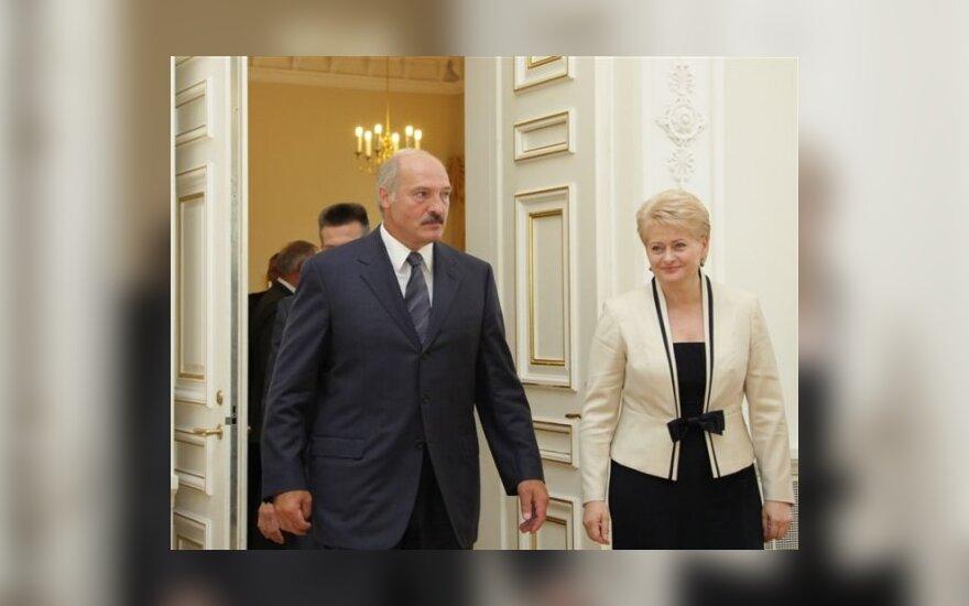 Aleksandras Lukašenka ir Dalia Grybauskaitė