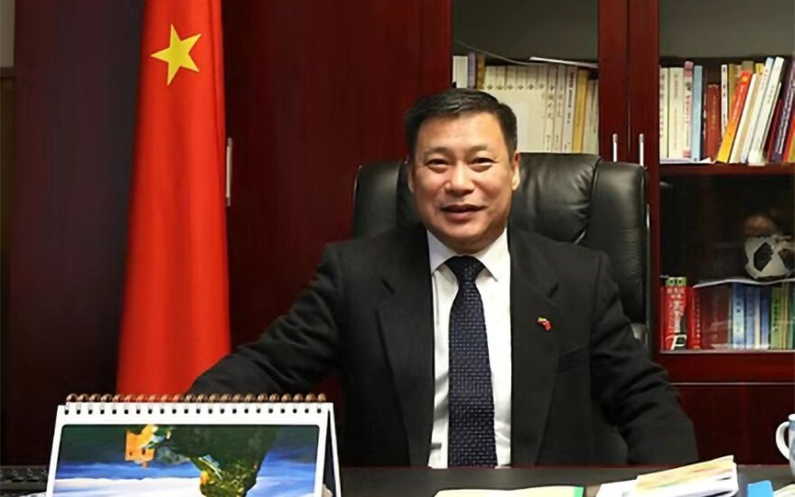 J.E. Kinijos Liaudies Respublikos ambasadorius Shen Zhifei
