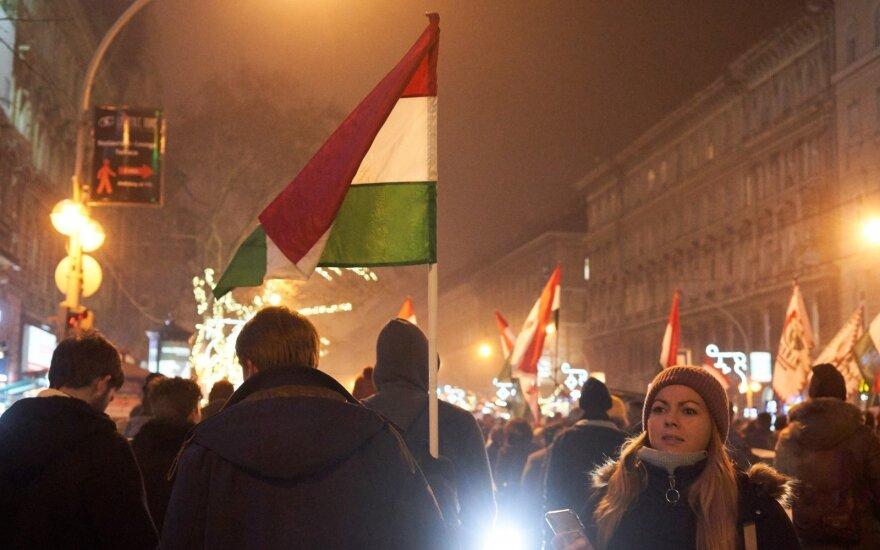 В Будапеште возобновились антиправительственные протесты