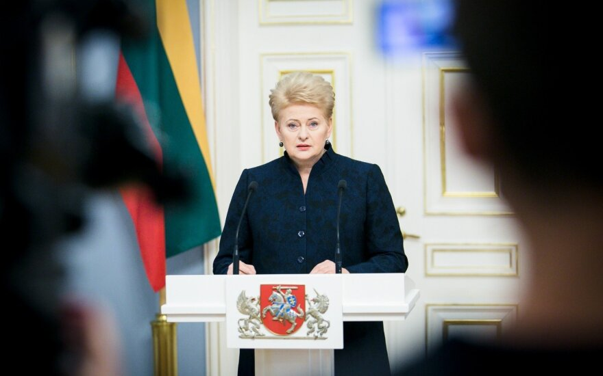 Президент Литвы: для введения всеобщего призыва нужно подготовиться