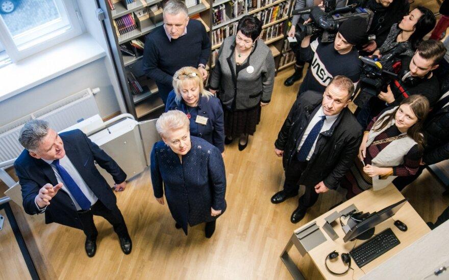 После реновации в Вильнюсе открылась библиотека им. А.Мицкевича
