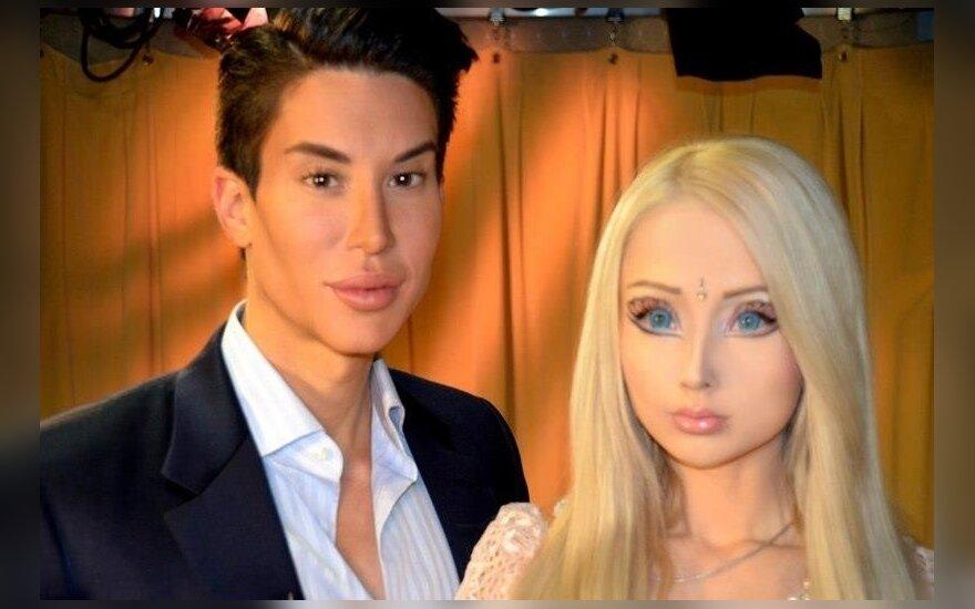 Украинская Барби встретилась с американским парнем-куклой (ФОТО)