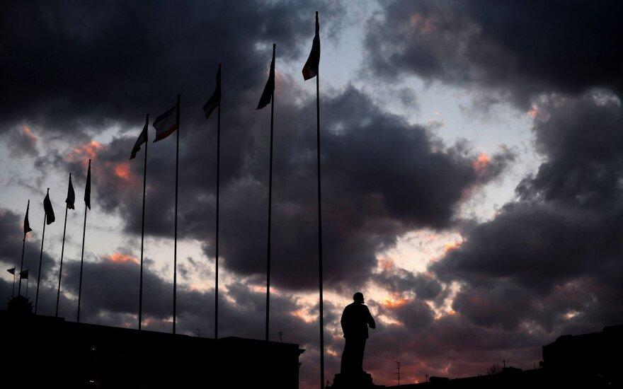 В центре Симферополя крымский татарин поджег себя
