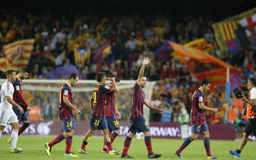 Barselonos klubo futbolininkai